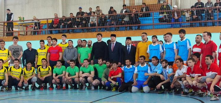Команда мусульманской общины г. Химки приняла участие в турнире по мини-футболу