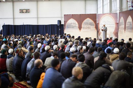 Мусульмане Химок отметили праздник Ураза-Байрам