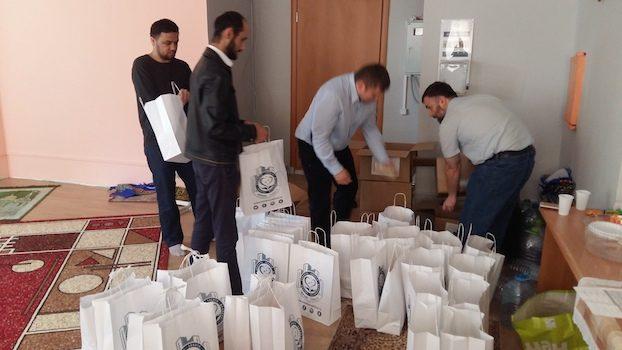 В честь месяца Рамадан химкинская община мусульманпровела благотворительную акцию