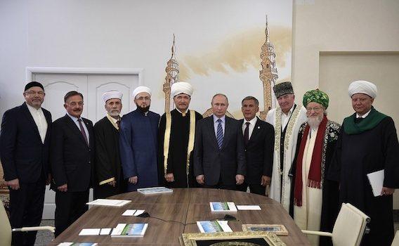 Муфтий Шейх Равиль Гайнутдин принял участие во встрече Президента Путина с муфтиями