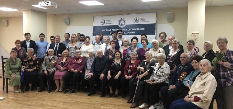 Поздравление ветеранов и тружеников тыла с 73-ей годовщиной победы