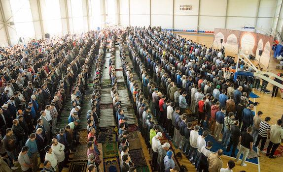 Химчане отметили праздник Ураза-байрам