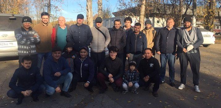 МРОМ Химки провели субботник на территории ОУСЦ «Планерная»