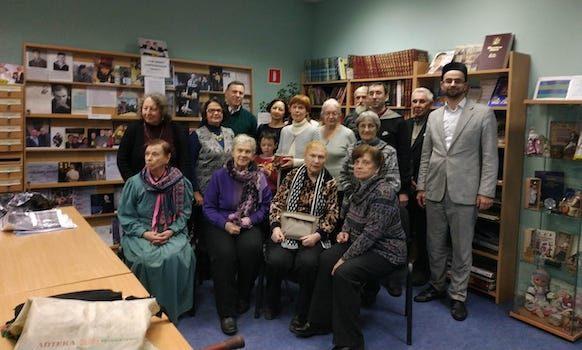 26 января члены общины мусульман были приглашены на собрание Химкинского краеведческого общества