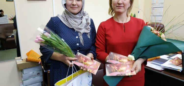 Поздравление с 8 марта от Администрации города