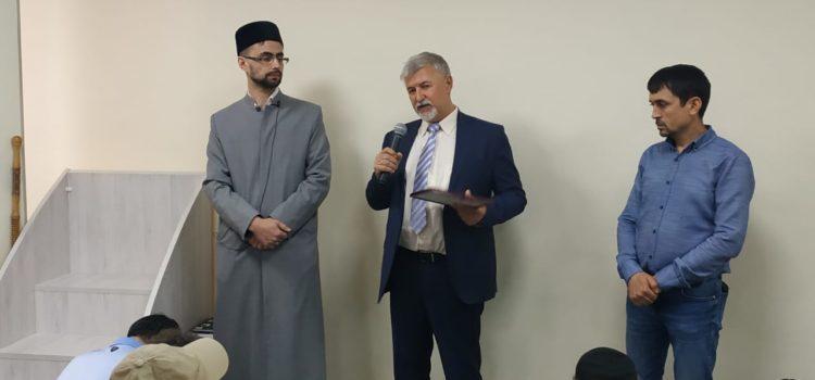 Представитель нашей общины награждён дипломом победителя