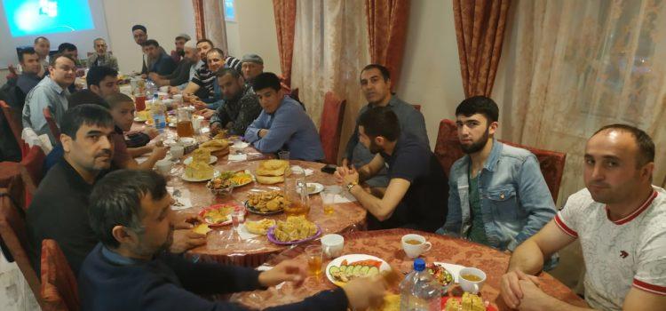 В МРОМ г.о.Химки прошел ифтар, посвященный культуре Таджикистана