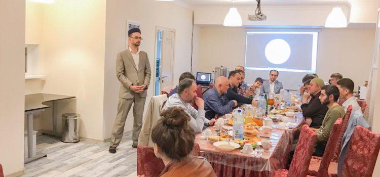 В МРОМ г.о.Химки прошел ифтар, посвященный татарской культуре
