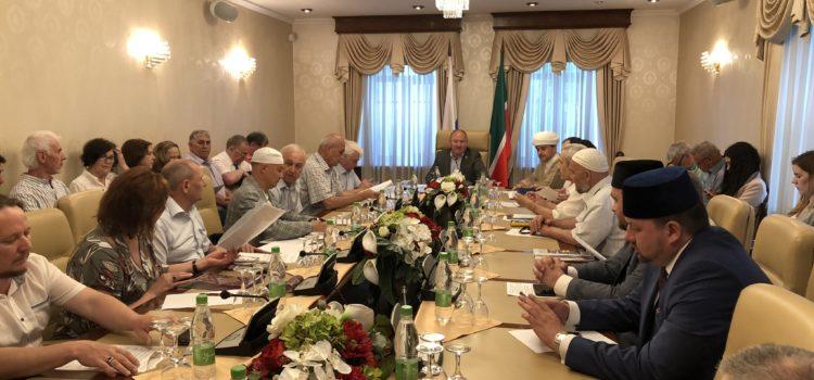 В Полпредстве РТ в РФ прошла встреча татарских общественных объединений