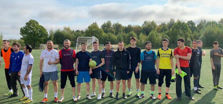 Команда МРОМ Химки приняла участие в турнире по мини футболу