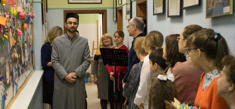 Председатель МРОМ Химки принял участие на церемонии открытия выставки «Школа добрососедства»
