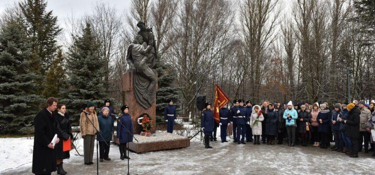 Председатель МРОМ Химки принял участие в мероприятии «Свеча памяти»