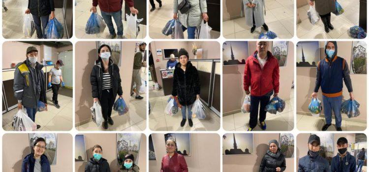 Со дня начала акции оказана помощь 609 людям