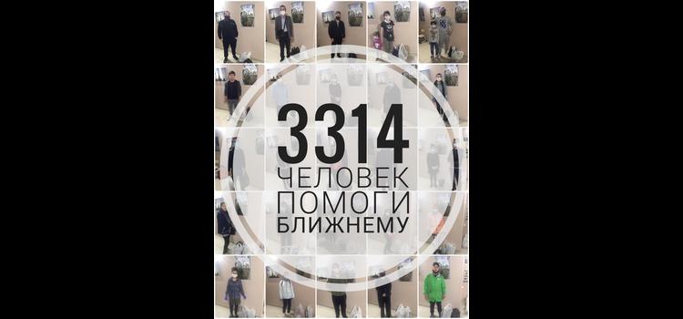 На 10 мая 3314 человек получили помощь от Местной религиозной организации мусульман г.о. Химки Московской области.