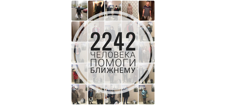 За 11 дней проведения акции община помогла 2242 людям